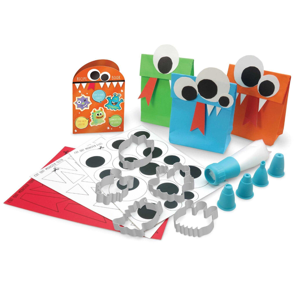 Gusto monster cookie baking activity set - contents - Peach Perfect