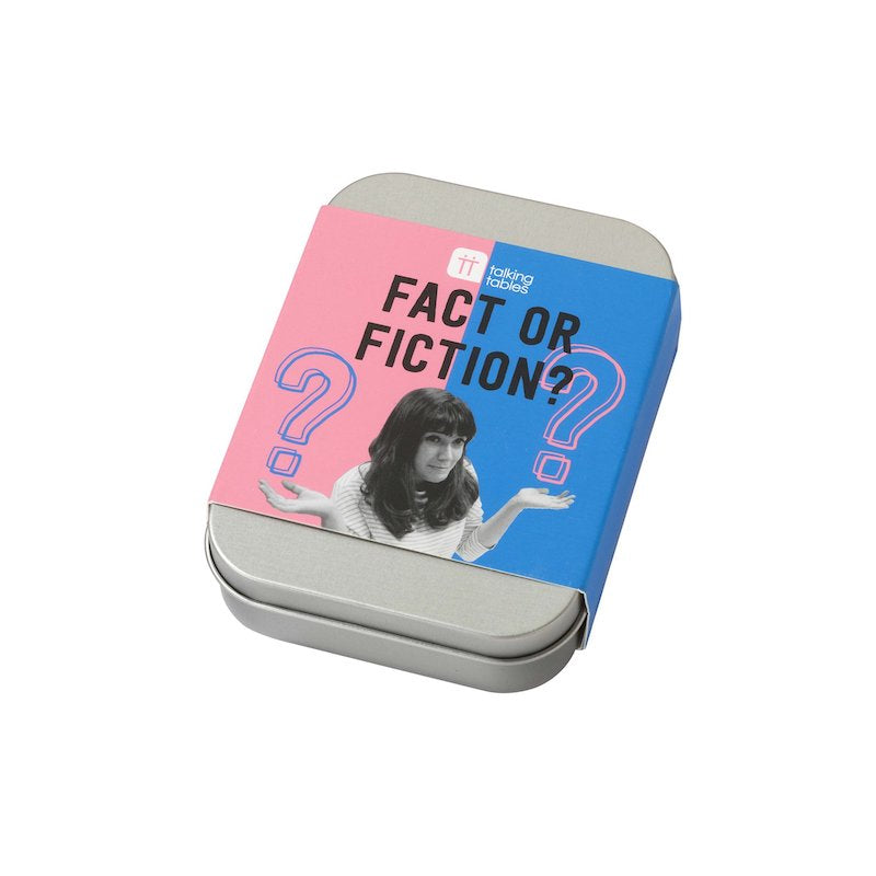 Fact or Fiction Game in a Tin | Peach Perfect