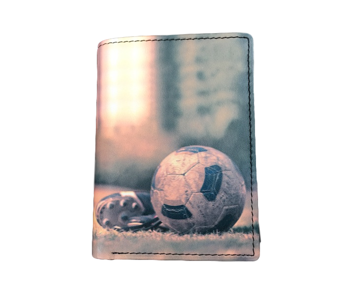 Kalmin RFID Football wallet - Peach Perfect