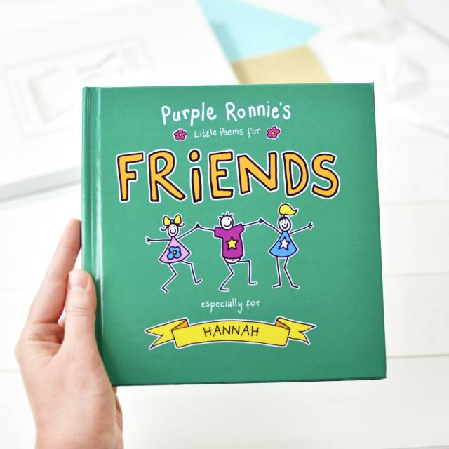 Purple Ronnie's Little Poems for Friends - Peach Perfect