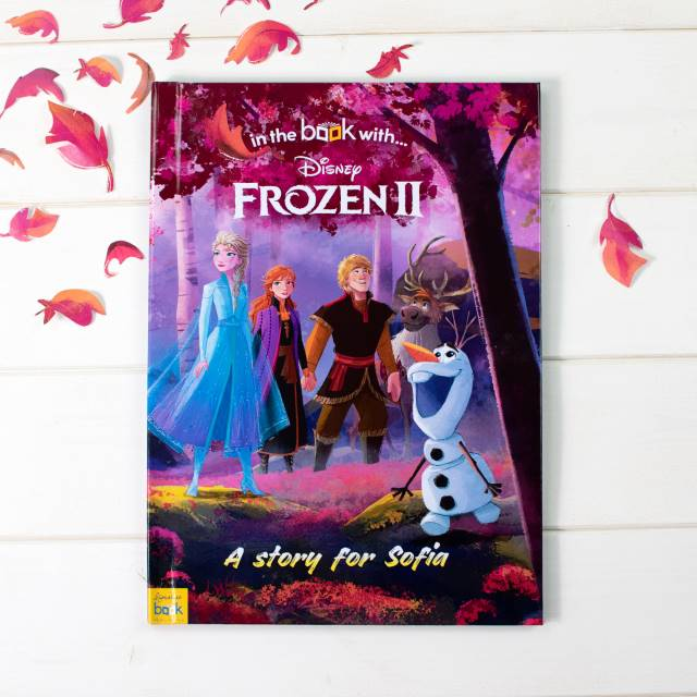 Personalised Frozen 2 book - Peach Perfect