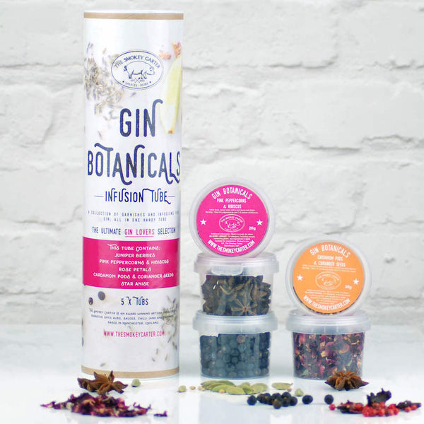 Gin Botanicals Infusion Kit by Smokey Carter - Peach Perfect