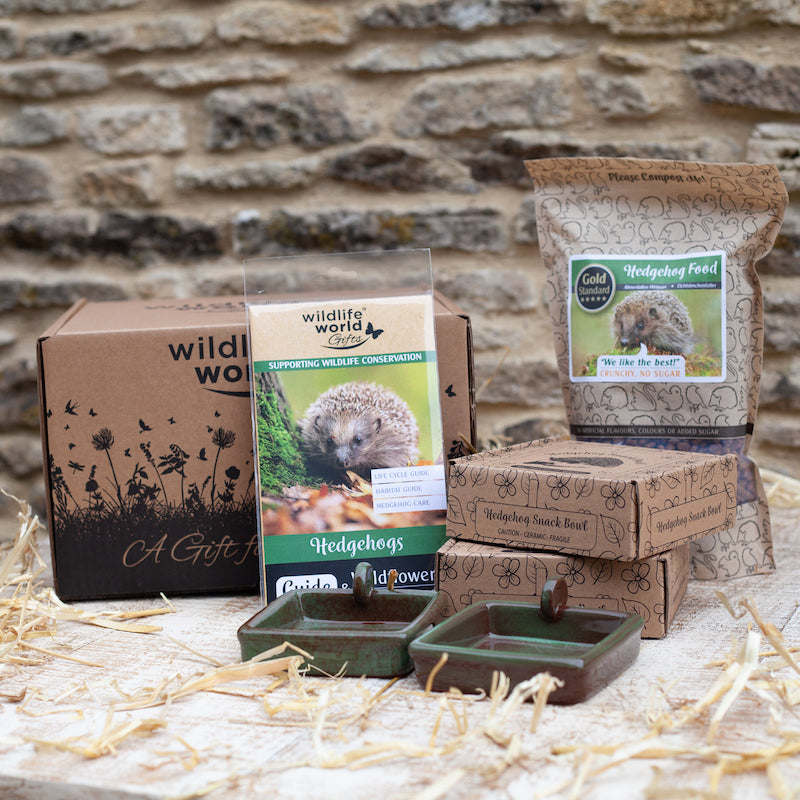 'For the love of hedgehogs' gift set by Wildlife World  - Peach Perfect