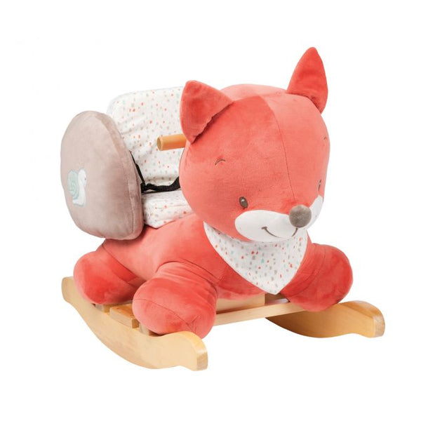 Oscar the Fox Nattou rocker - Peach Perfect