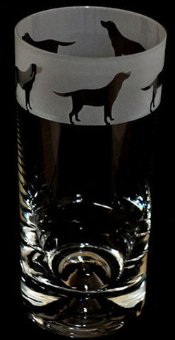 Labrador Frieze Highball - Peach Perfect