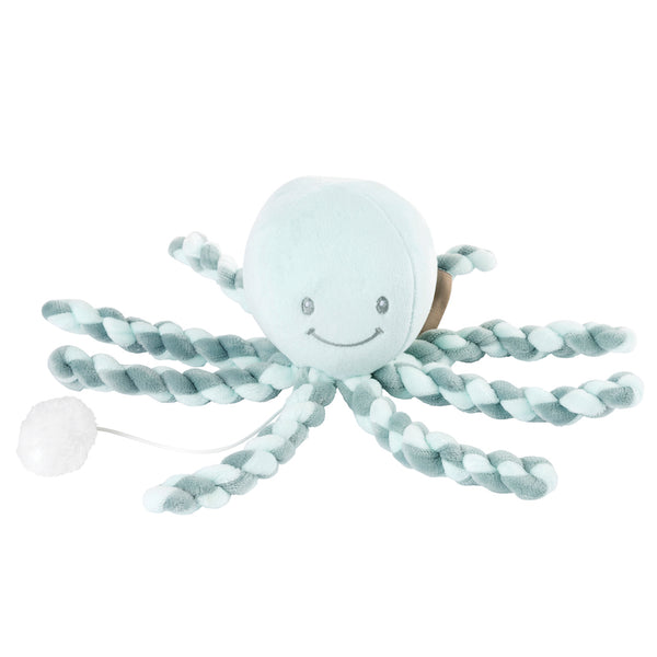 Musical Più Più Octopus - gift for premature babies - Peach Perfect