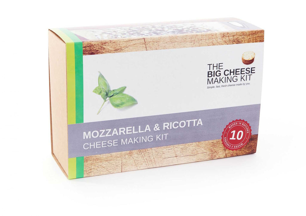 Mozzarella and ricotta cheese making kit - Peach Perfect