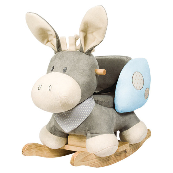 Nattou rocker Cappuchino the donkey - Peach Perfect