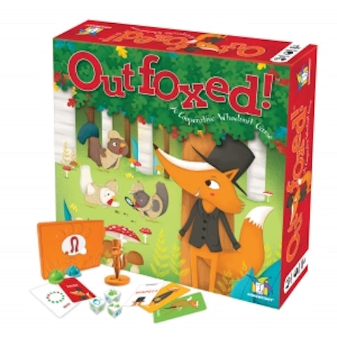 Outfoxed board game - Peach Perfect