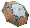 Monet poppies umbrella - Peach Perfect