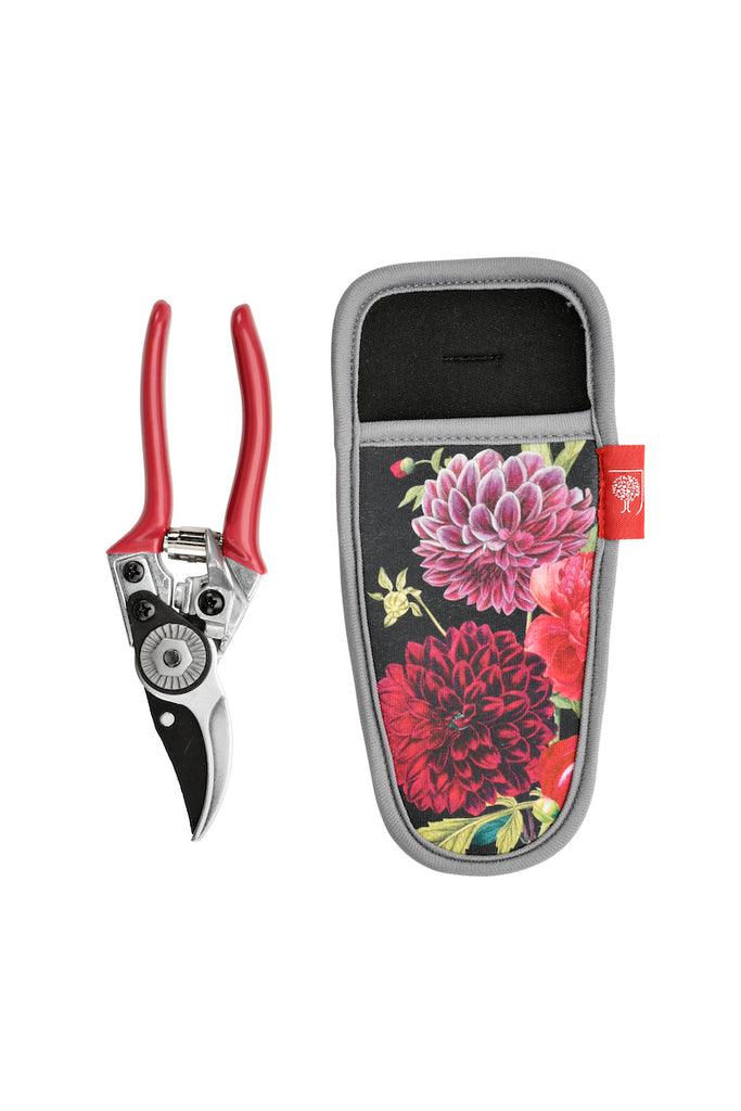 RHS British Bloom pruner & holster by Burgon & ball 2 - Peach Perfect