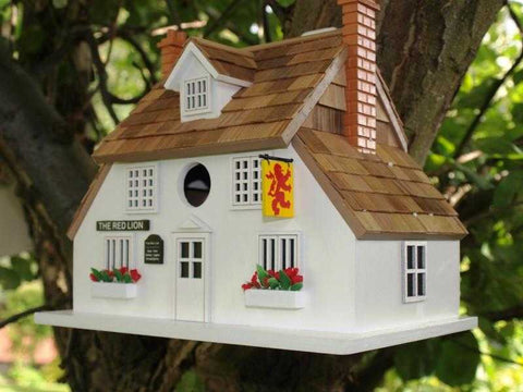 Red Lion Inn bird house - Peach Perfect