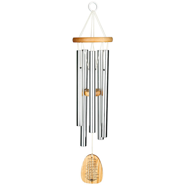 Irish Blessing Wind chime - Peach Perfect
