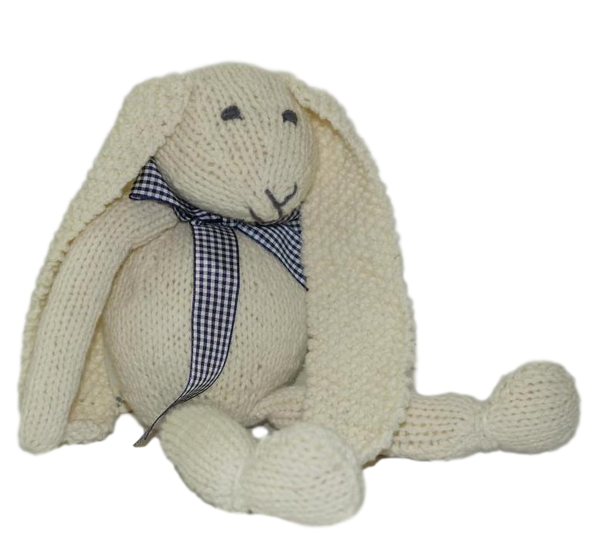 Romney Marsh Hare knitting kit - Peach Perfect