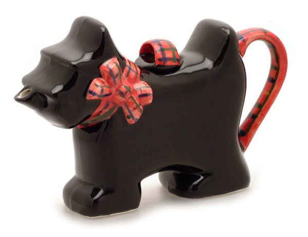 Scot Tea Dog Carter's Novelty Teapot - Peach Perfect