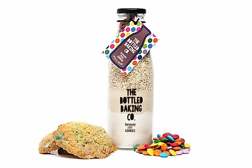 Seriously smart cookie mix in a bottle by The Bottled Baking Company - Peach Perfect