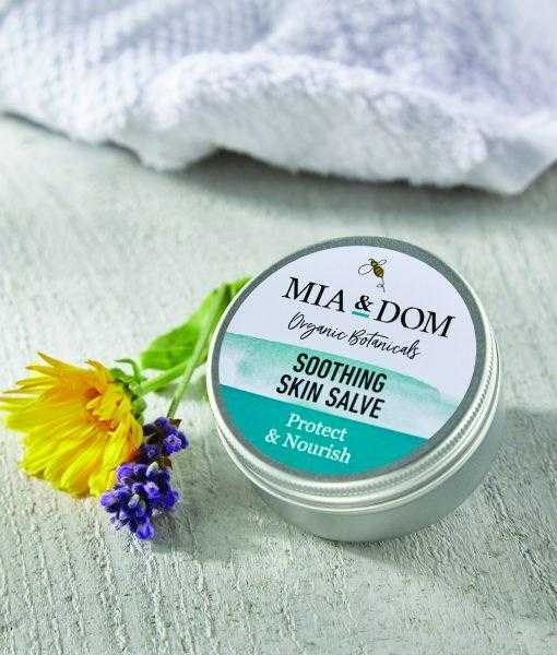MIA & DOM NEW BABY GIFT BOX - Soothing Skin Salve - PEACH PERFECT
