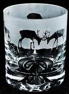 Stag Frieze Tumbler - Peach Perfect