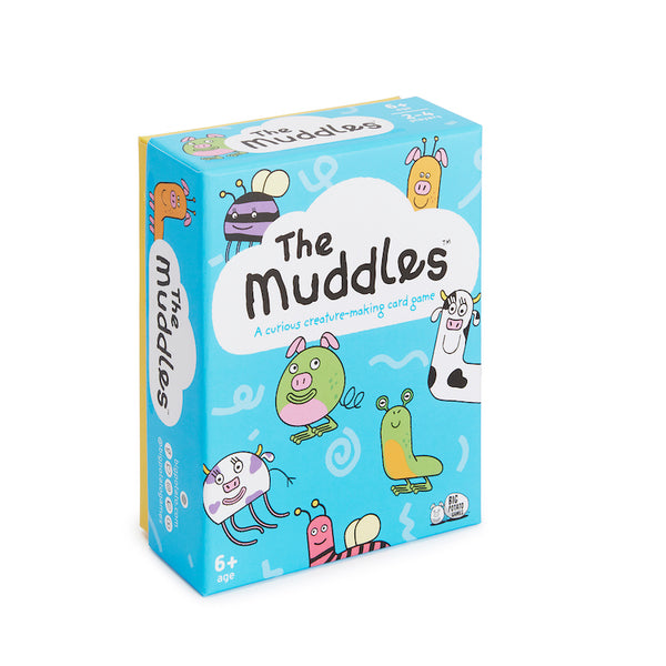 The Muddles family card game by Big Potato - Peach Perfect