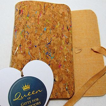 Travellers notebook with cork cover - Peach Perfect