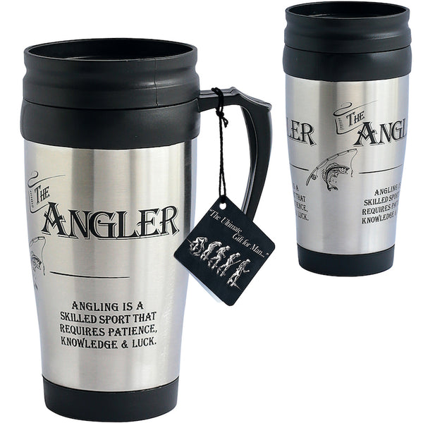 The Angler Travel Mug - Peach Perfect
