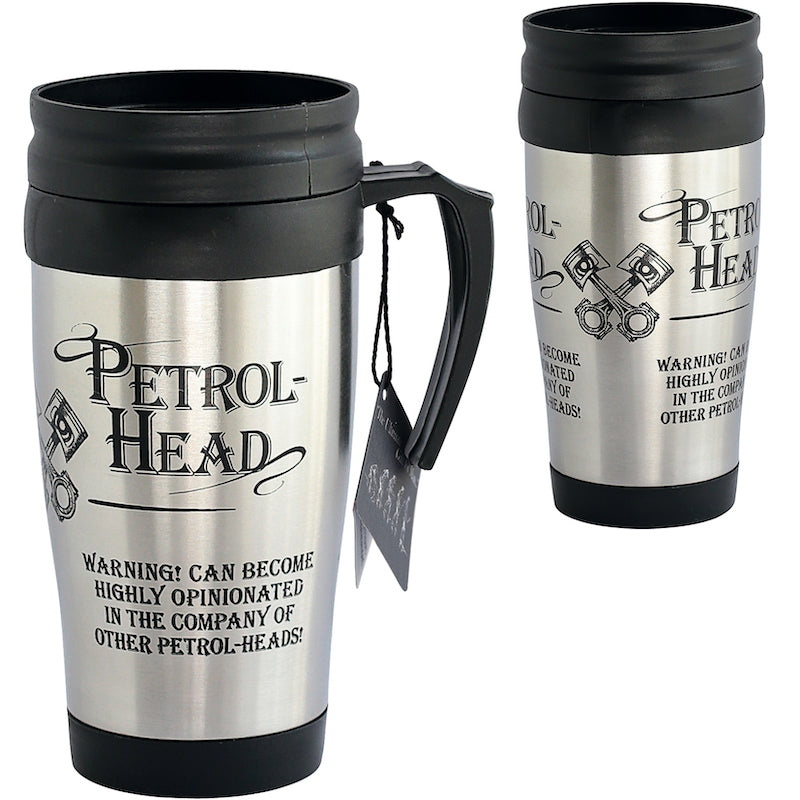 Petrol-Heads Travel mug - Peach Perfect