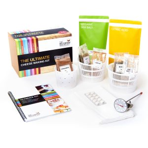 Ultimate cheese making kit - contents - Peach Perfect