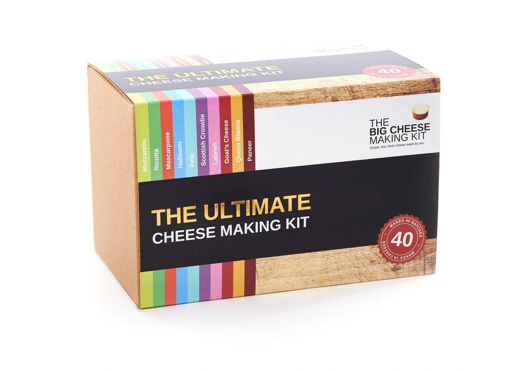 Ultimate cheese making kit - Peach Perfect