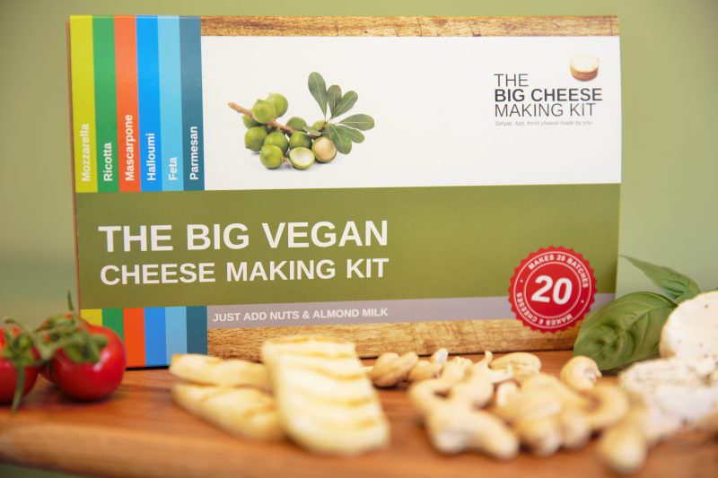 Big Vegan Cheese making kit - Peach Perfect