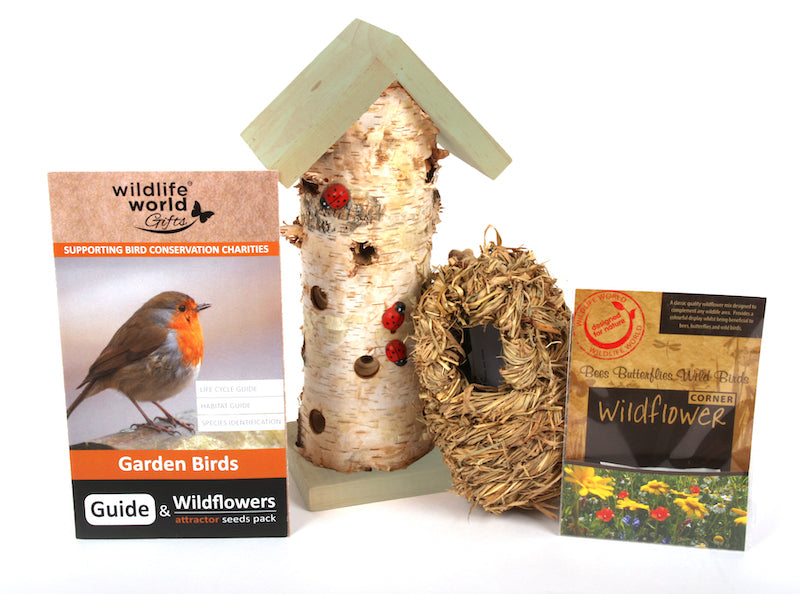 Woodland gft set by Wildlife World - Contents - Peach Perfect