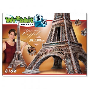 Eiffel Tower 3D puzzle - Peach Perfect
