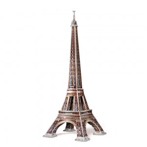 Eiffel Tower 3D puzzle - completed - Peach Perfect