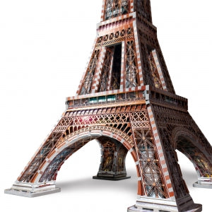 Eiffel Tower 3D puzzle - base of tower - Peach Perfect