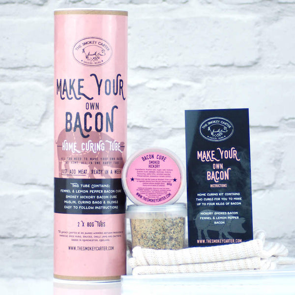 Make your own bacon home curing kit by Smokey Carter - Peach Perfect