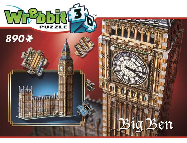 Big Ben 3D Puzzle - Peach Perfect