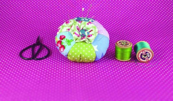 Pincushion Sewing Kit - Peach Perfect