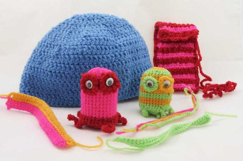 Learn how to crochet - projects