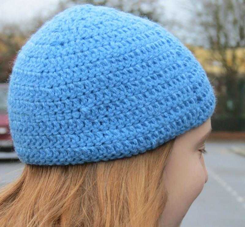 Learn how to crochet - hat - Peach Perfect