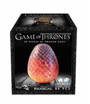 Game of Thrones Dragon Egg 3D puzzle box - Peach Perfect