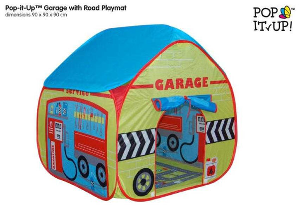 Pop up Play Tents - Garage - Peach Perfect