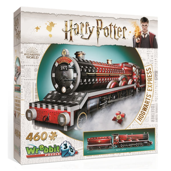 Harry Potter Hogwarts Express 3D puzzle by Wrebbit - Peach Perfect