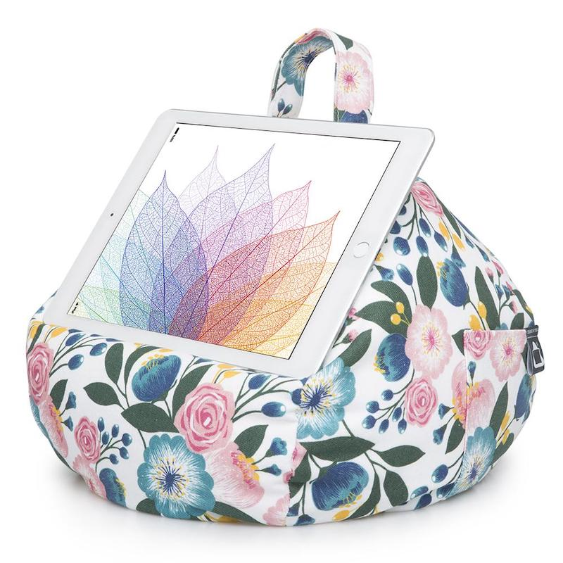 iBeani iPad cushion - floral - Peach Perfect