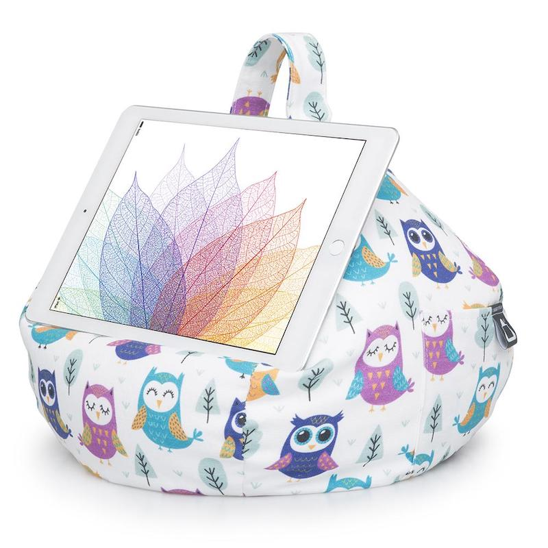 iBeani iPad cushion - owls - Peach Perfect