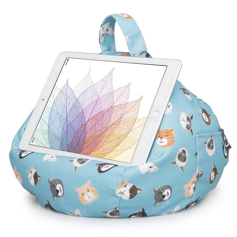 iBeani iPad cushion - cool cats - Peach Perfect