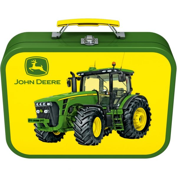 John Deere tractor jigsaws - handy tin - Peach Perfect