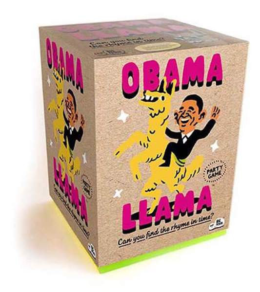 Obama Llama game - Peach perfect