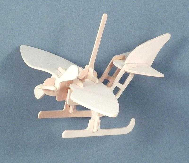 Magnificent flying machine in a tin kit - seaplane
