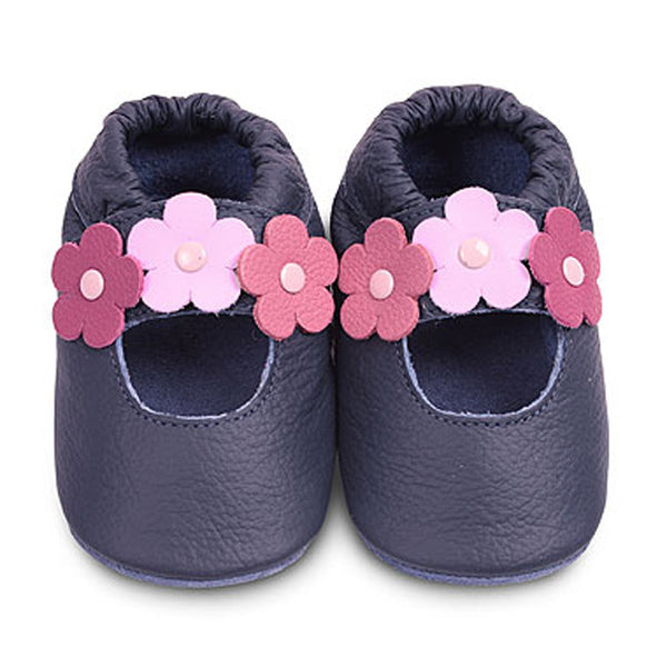Shoo Shoos First Shoes - Flowers - Peach Perfect