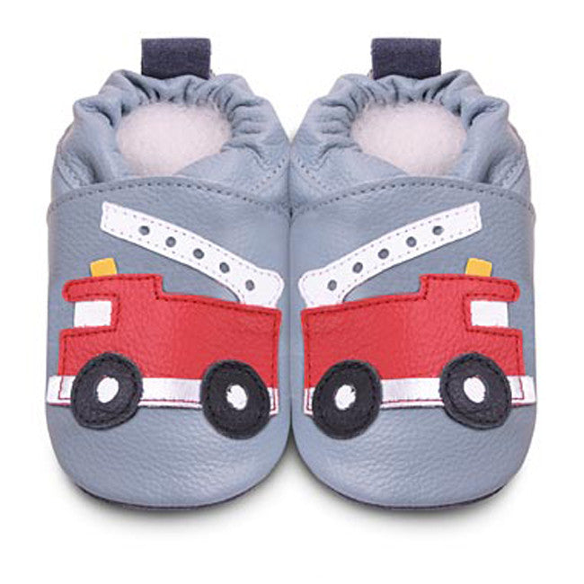 Shoo Shoos First Shoes - Fire Engine - Peach Perfect