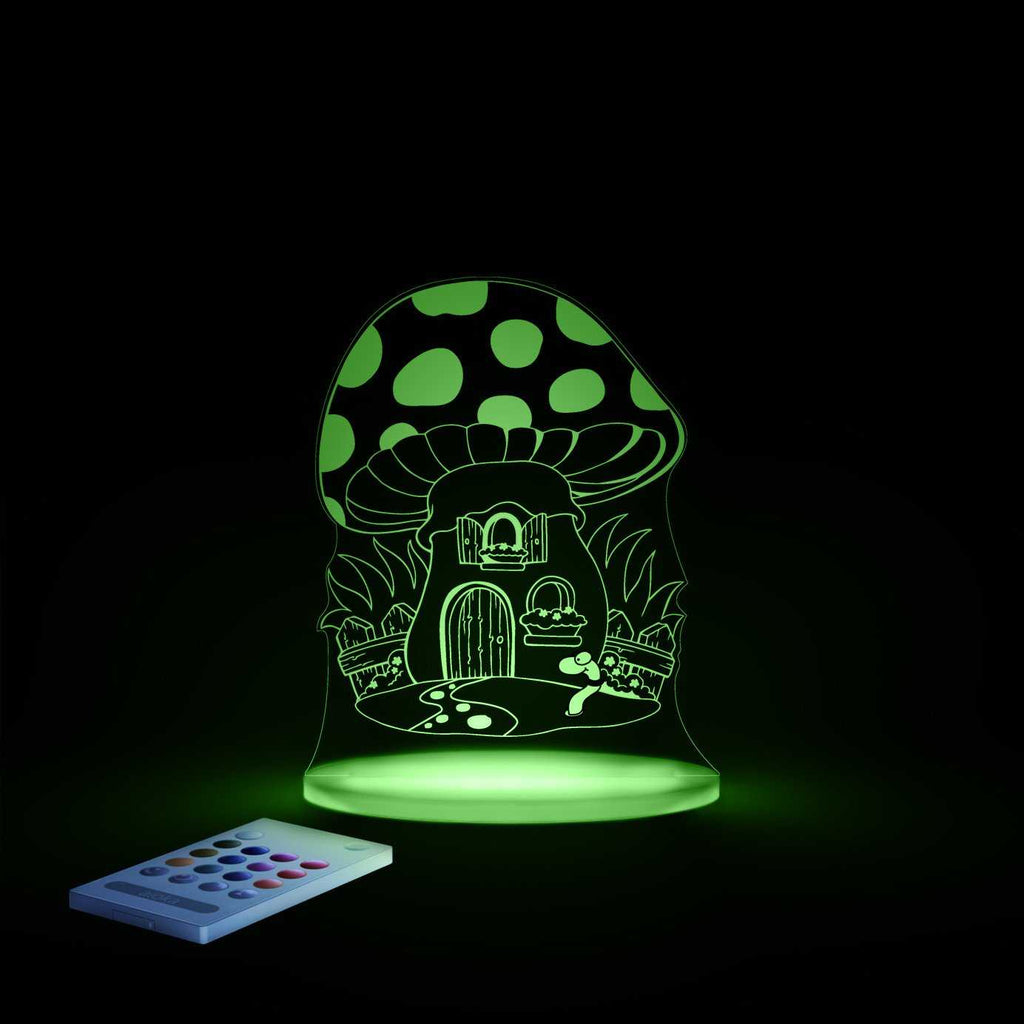 Aloka toadstool sleepy night light - Peach Perfect